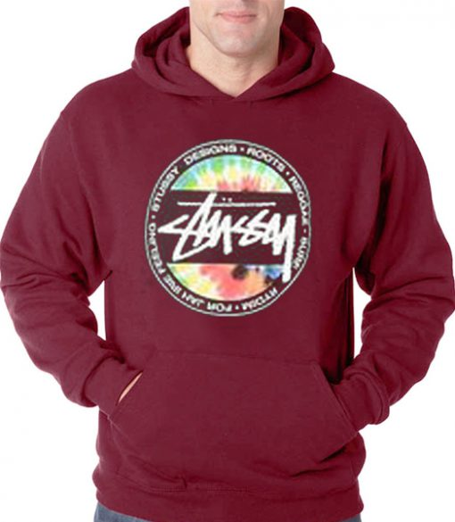 stussy tie dye hoodie