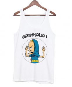 cornholio beavis and butt head tanktop