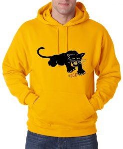 Black Panter Cat 332a Hoodie