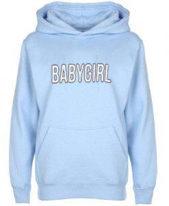 Blue BABY GIRL Hoodie