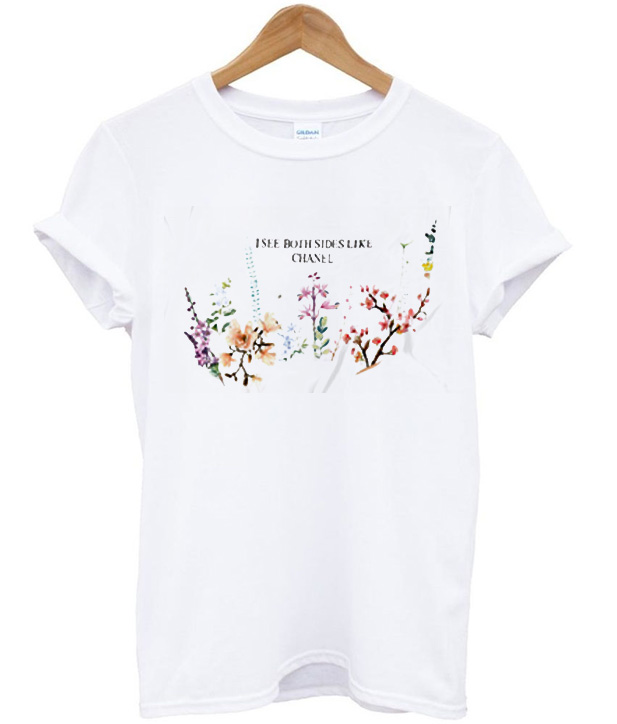 i see both sides like chanel spring flower t shirt ForI See Both Sides Like Chanel Shirt