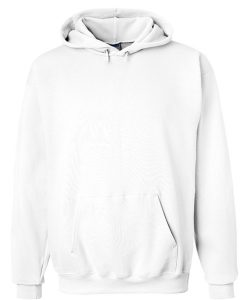 White Soft Color Hoodie