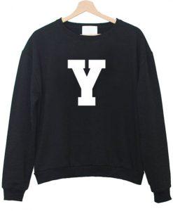 Y Font Sweatshirt