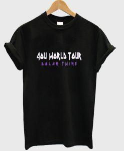 4ou World Tour T Shirt