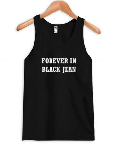 Forever In Black Jeans Tank Top