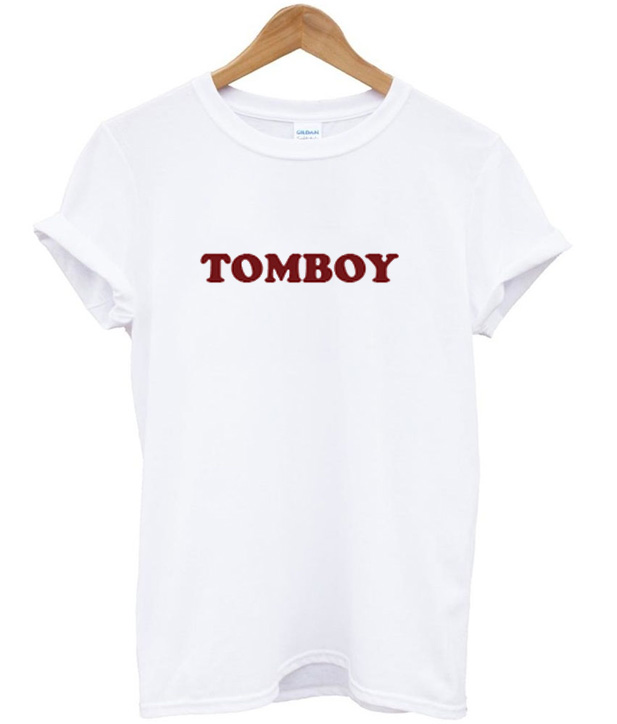 Tomboy t shirt for Snap t shirt printing