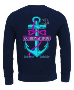 Southern Attitude Long Sleeve Anchor Shirt