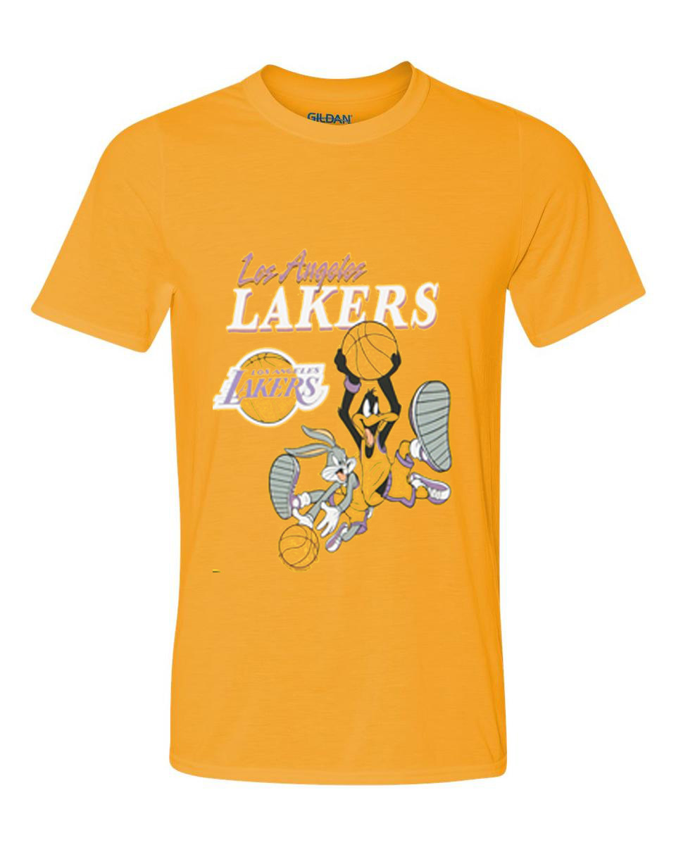 Space Jam Lakers T Shirt