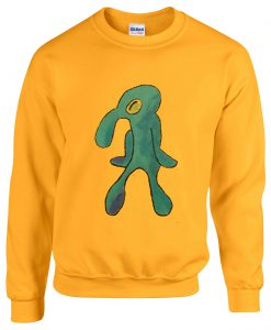 Squidward Painting Sweatshirt
