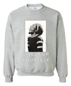 Bob Marley Lively Up Yourself Sweatshirt