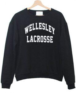 Wellesley Lacrosse Sweatshirt