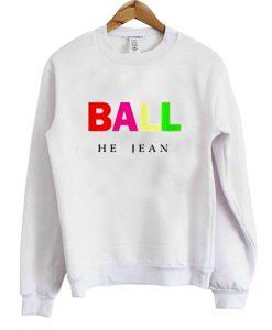 Ball He Jean Sweatshirt