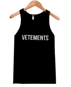 Vetements Tank top