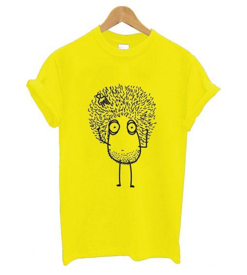 Afro drawing drawn T-Shirt