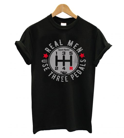 Use Three Pedals T-Shirt
