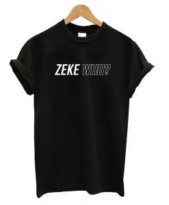 Zeke Who That's Who Black T-Shirt