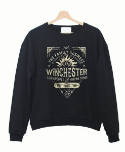 A Very Winchester Business Crewneck Sweatshirt