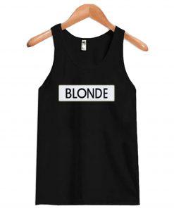 Black Blonde Tanktop