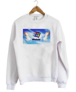 Windows 95 Vaporwave Art Sweatshirt
