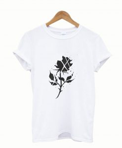 Black Rose T shirt