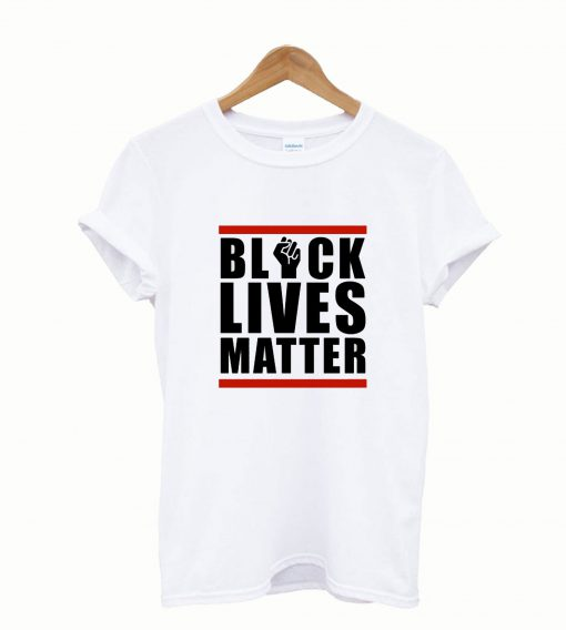 Black Lives Matter White T shirt